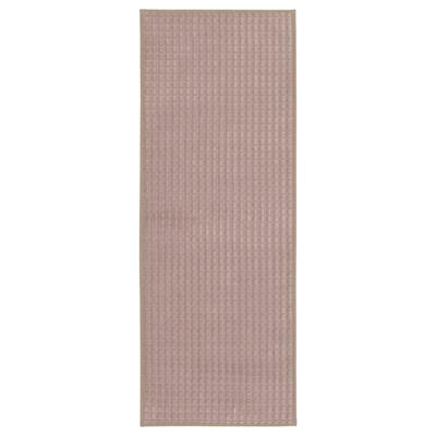 BRYNDUM Kitchen mat, beige, 45x180 cm