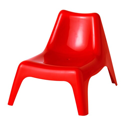 Buns 214 Children S Easy Chair Outdoor Red Ikea