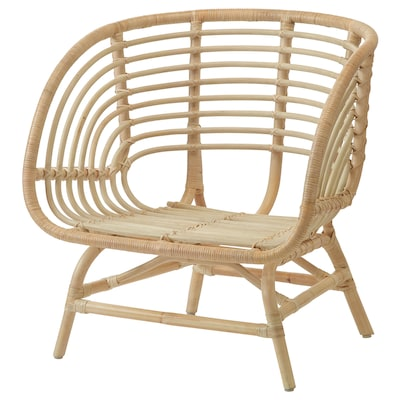 BUSKBO Armchair, rattan
