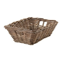 BYHOLMA basket, grey