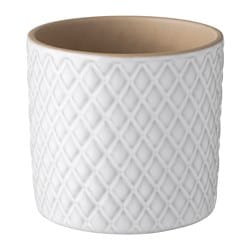 CHIAFRÖN plant pot, white