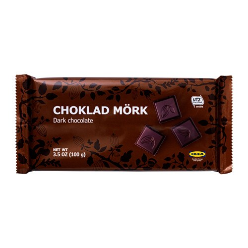 Choklad M 214 Rk Dark Chocolate Ikea