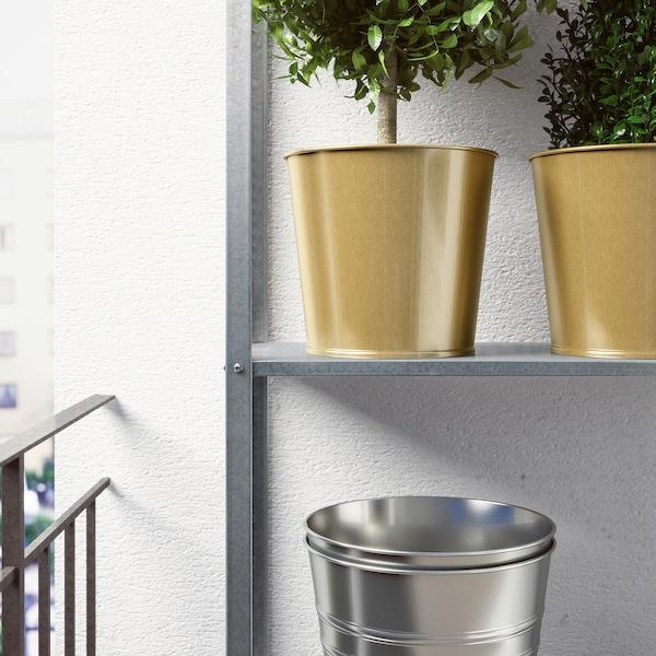 DAIDAI Plant pot, brass-colour, 19 cm