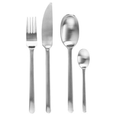 DATA 24-piece cutlery set stainless steel