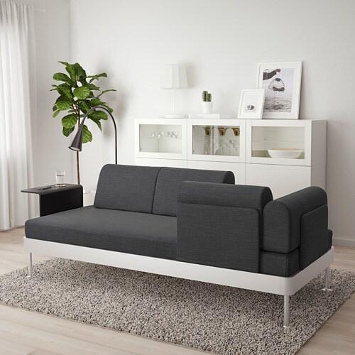 Delaktig 3 Seat Sofa W Side Table And Lamp Hillared