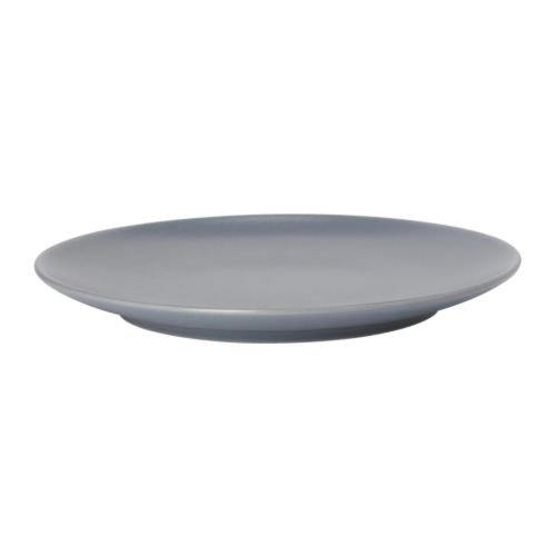 DINERA Side plate IKEA With its simple shapes, muted colours and matt glaze, the dinnerware gives a rustic feel to your table setting.