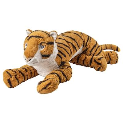 DJUNGELSKOG soft toy tiger 70 cm