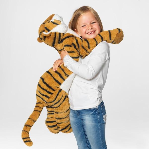 DJUNGELSKOG Soft toy, tiger