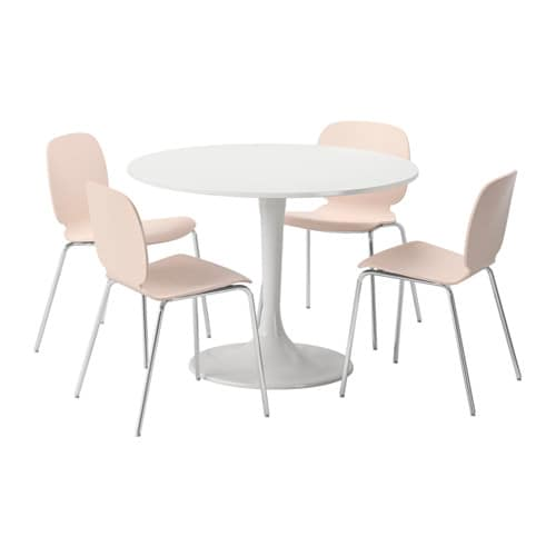 Ikea Dining Room Table And Chairs: DOCKSTA / SVENBERTIL Table And 4 Chairs