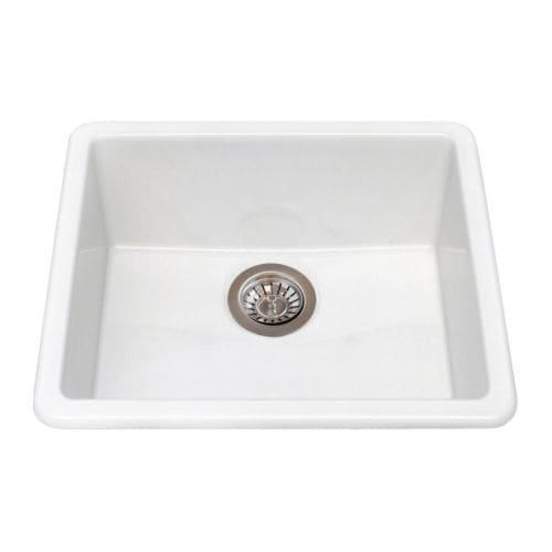 DOMSJÖ Single-bowl Inset Sink