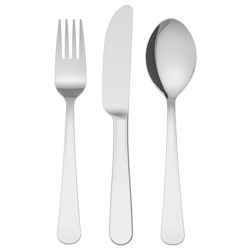 IKEA DRAGON Children's 3-piece cutlery set