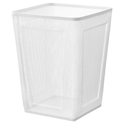 DRÖNJÖNS wastepaper basket white 26 cm 26 cm 35 cm