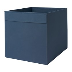DRÖNA box, black-blue