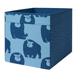 DRÖNA box, blue monkey