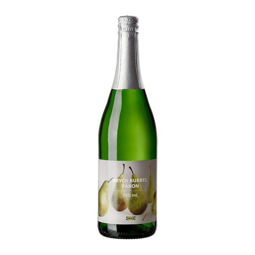 DRYCK BUBBEL PÄRON Sparkling pear drink IKEA A refreshing fruity and non-alcoholic drink.   Serve at festive occasions.