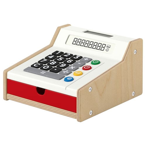 DUKTIG toy cash register 19 cm 11 cm 18 cm