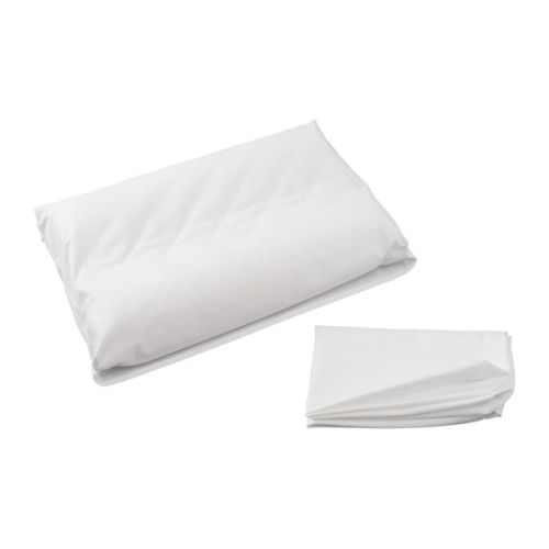 DVALA Pillowcase for memory foam pillow IKEA Cotton, feels soft and nice against your skin.