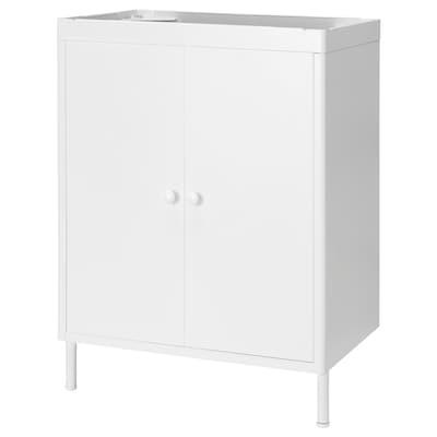 DYNAN Wash-basin cabinet with 2 doors, 58x39x78 cm