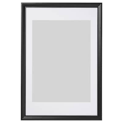 EDSBRUK Frame, black stained, 61x91 cm