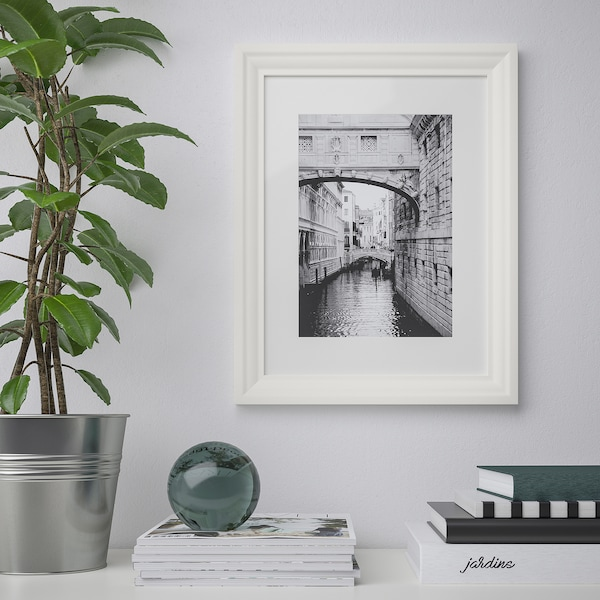 EDSBRUK Frame, white, 30x40 cm