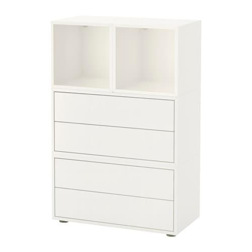 Eket Cabinet Combination With Feet White Ikea