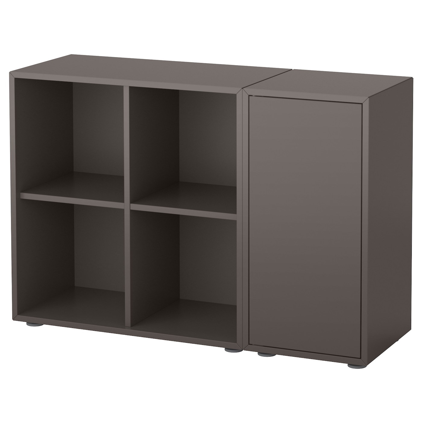 Eket Cabinet Combination With Feet Dark Grey Add To Wishlist Ikea