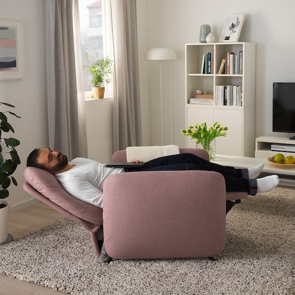 EKOLSUND recliner Gunnared light brown-pink 85 cm 94 cm 97 cm 54 cm 64 cm 45 cm