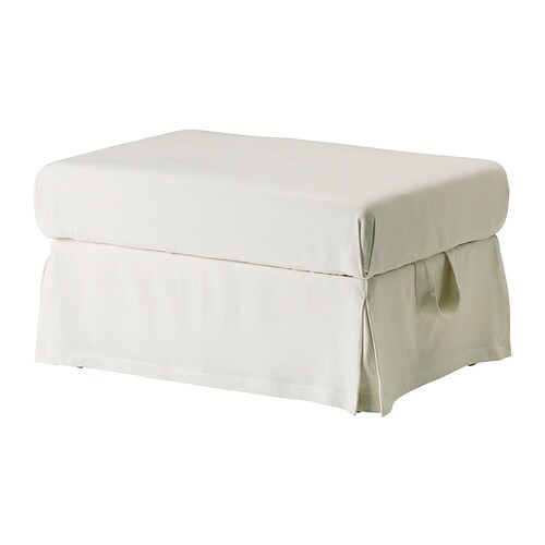 EKTORP Footstool  Stenåsa white  IKEA