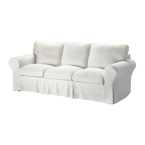EKTORP Threeseat sofa  Stenåsa white  IKEA