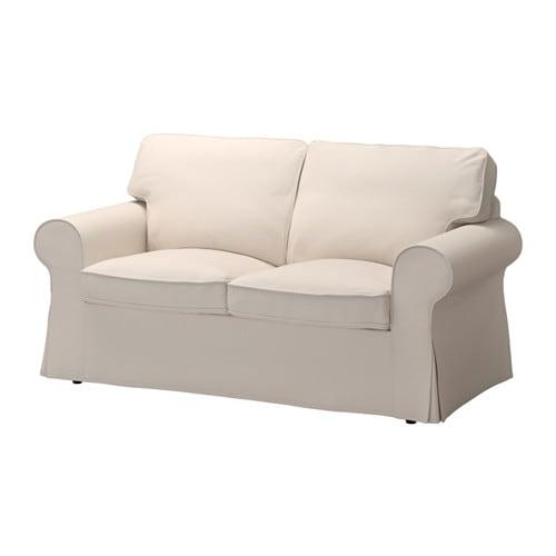 2er sofa ikea  EKTORP Two-seat sofa - Lofallet beige - IKEA
