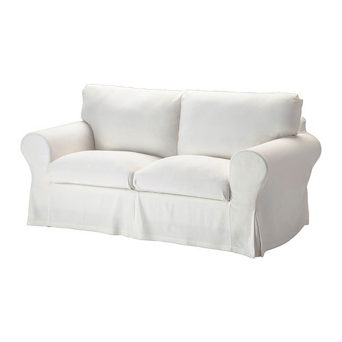 Ektorp Two Seat Sofa Sten Sa White Ikea