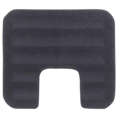 EMTEN Pedestal mat, dark grey, 55x60 cm