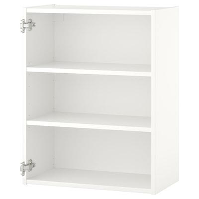 ENHET Wall cb w 2 shelves, white, 60x30x75 cm