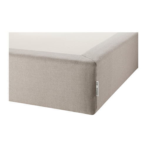 EVENSKJER Mattress base IKEA Gives your bed set a colour coordinated look together with HESSENG pocket sprung mattress.