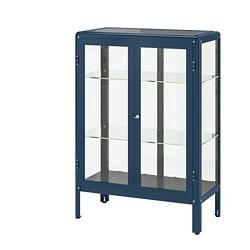 FABRIKÖR Glass-door cabinet $199