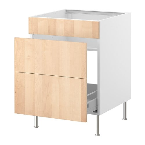 FAKTUM Base cab f sink/waste sorting IKEA