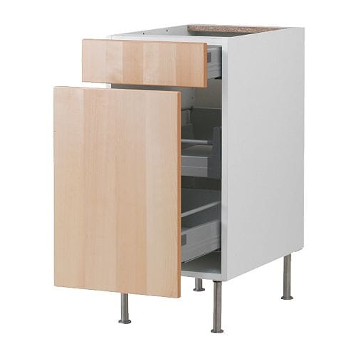 FAKTUM Base cabinet/p-out storage/drawer IKEA