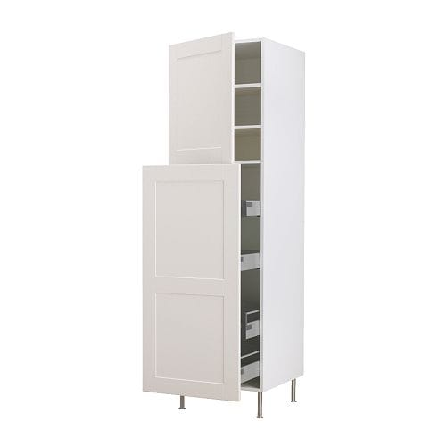 FAKTUM High cab w pull-out storage/2 doors IKEA