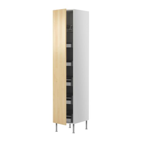 Ikea Ohrensessel Strandmon Schwarz ~   cabinet w drawers wire basket  Nexus birch veneer, 40×211 cm  IKEA