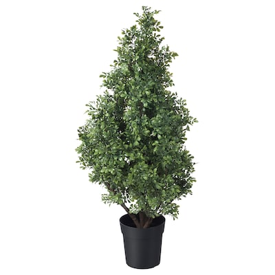 FEJKA Artificial potted plant, in/outdoor Box, 19 cm