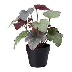 FEJKA artificial potted plant, in/outdoor Alumroot