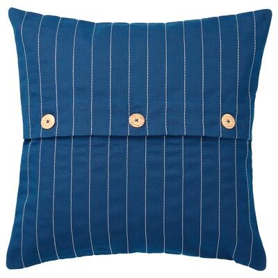 FESTHOLMEN Cushion cover, in/outdoor, dark blue, 50x50 cm