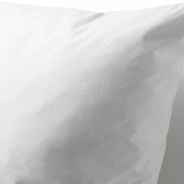FJÄDRAR Cushion pad, white, 65x65 cm
