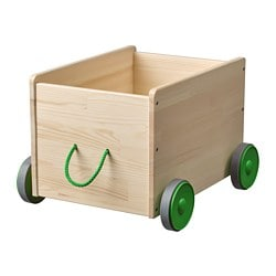 FLISAT toy storage with wheels