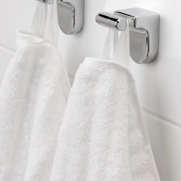 FLODALEN Bath sheet, white, 100x150 cm