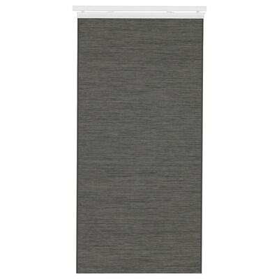 FÖNSTERVIVA Panel curtain, dark grey, 60x300 cm