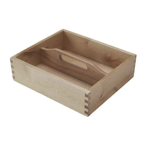 FÖRHÖJA Cutlery tray IKEA Handled; easy to carry from a drawer to a table and back.  Can be used as practical storage for cutlery, spices or pens.