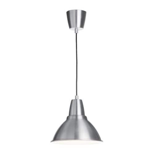 FOTO Pendant lamp IKEA Gives a directed light; good for lighting up for example dining tables or bar tops.