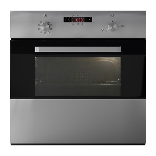 FRAMTID OV9 Forced air oven with pizza function IKEA 5 year guarantee.   Read about the terms in the guarantee brochure.