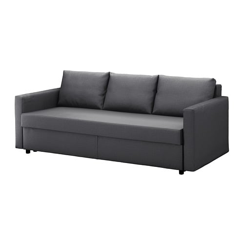 Schlafsofa ikea  FRIHETEN Three-seat sofa-bed - Skiftebo dark grey - IKEA